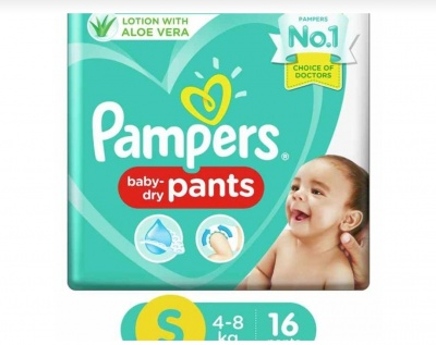 Pampers baby dry pants S-Size 16 pants