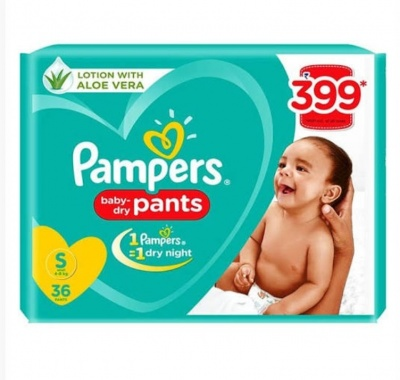 Pampers baby dry pants S-Size 36 Pants