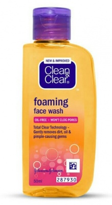 Clean&Clear Foaming Face Wash 50ml