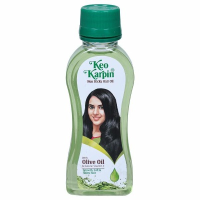 Keo Karpin Non Sticky With Olive Hair Oil 50 ml