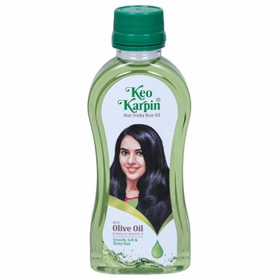 Keo Karpin Non Sticky With Olive Hair Oil 100 ml