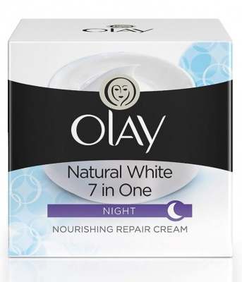 OLAY NATURAL WHITE 7 IN ONE NIGHT